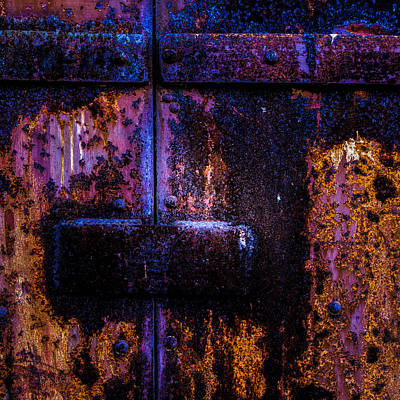 Photograph - Steel Door Number Three by Bob Orsillo