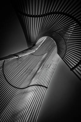 Pipe Photograph - Steel Frame by Le Vu Cuong