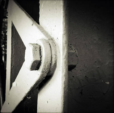 Industrial Photograph - Steel Girder by Les Cunliffe