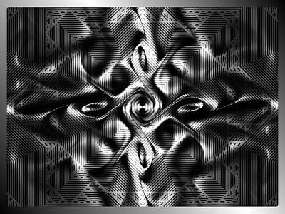 Digital Art - Steel Magnolia by Kiki Art