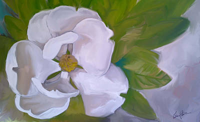 Painting - Steel Magnolia by Steven Lester