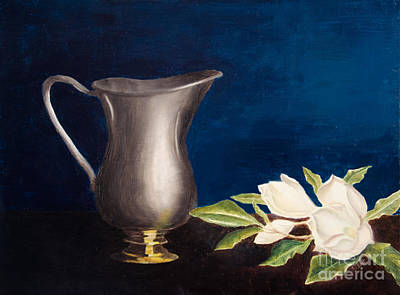 Painting - Steel Magnolias by Laurel Best