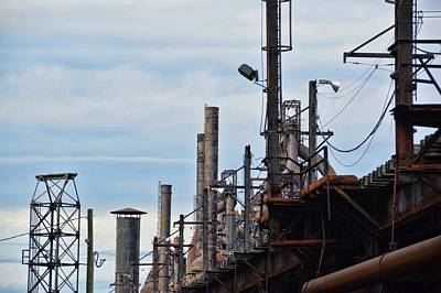 Photograph - Steel Mill by JAMART Photography