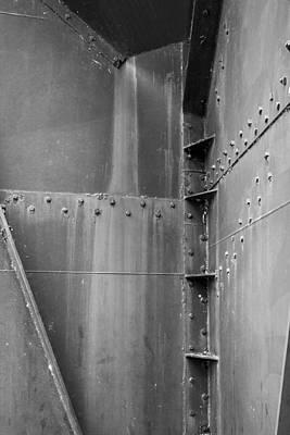 Photograph - Steel Sculpture - Washington by Steven Ralser