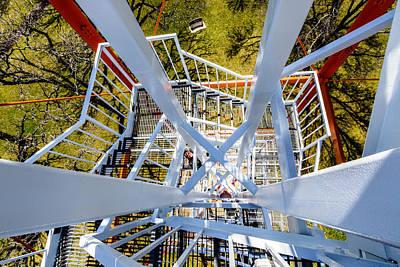 Photograph - Steel Spiral by Randy Scherkenbach