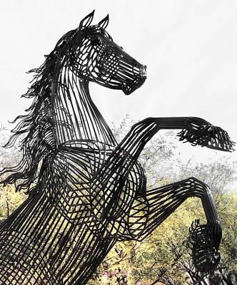 Photograph - Steel Stallion by Regina Arnold