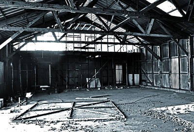Photograph - Steel Warehouse 3 by Holly Blunkall