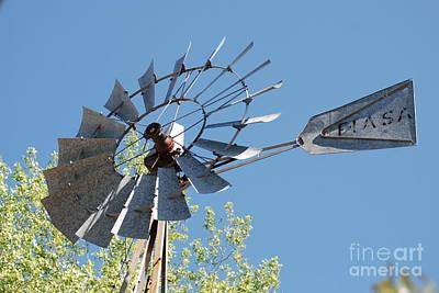 Photograph - Steel Windmill by Mark McReynolds