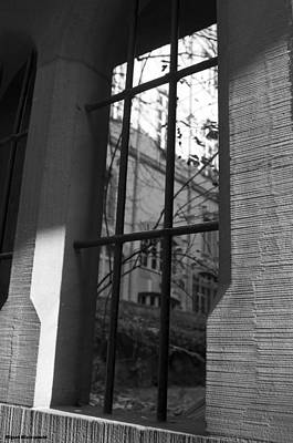 Photograph - Steel Window by Miguel Winterpacht