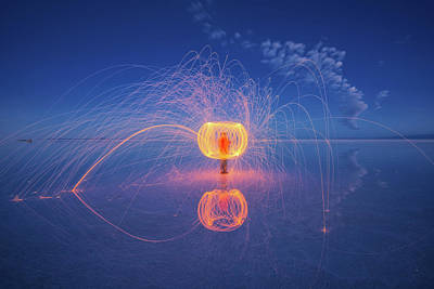 Photograph - Steel Wool At Uyuni by Piriya Photography