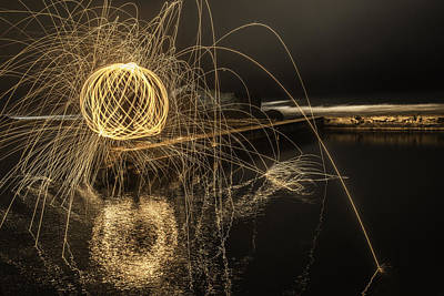 Photograph - Steel Wool In Sutro Baths... by Israel Marino