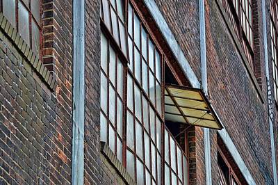 Photograph - Steel Work History by JAMART Photography