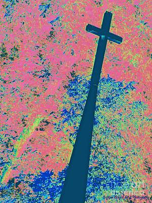 Photograph - Steeple Art by Bobbee Rickard