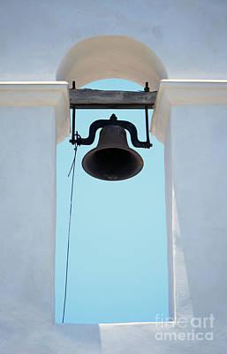 Steeple Bell Shadow San Antonio Missions National Historical Park Mission San Juan Art Print by Shawn O'Brien