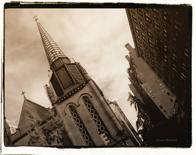 Photograph - Steeple Chase by Donna Blackhall