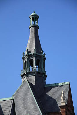 Steeple Art Print by Frank Romeo