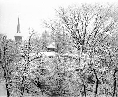 Photograph - Steeple In Snow by William Haggart