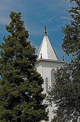 Photograph - Steeple In The Trees by Andy Crawford