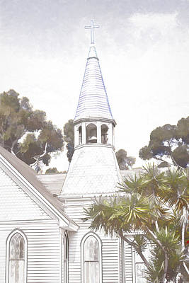 Digital Art - Steeple by Photographic Art by Russel Ray Photos