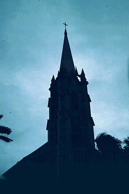 Photograph - Steeple Silhouette by Donna Walsh