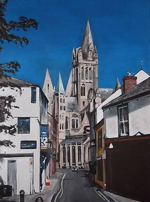 Steeples Art Print by Cherise Foster