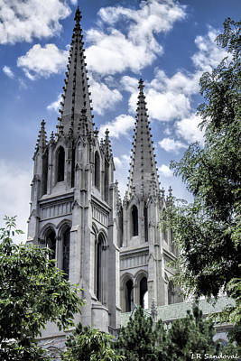 Immaculate Photograph - Steeples by Lena Sandoval-Stockley