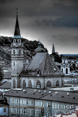 Photograph - Steeples Over Innsbruck by Ken Johnson