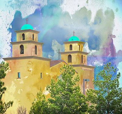 Abstract Shapes Janice Austin Royalty Free Images - Steeples Royalty-Free Image by Will Wagner