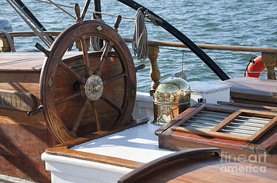 Photograph - Steering Into The Blue by Brenda Kean