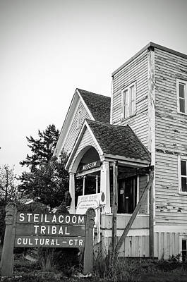 Photograph - Steilacoom Tribal Cultural Center by Tikvah's Hope