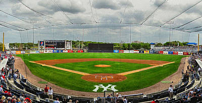 Photograph - Steinbrenner Field 5 by C H Apperson