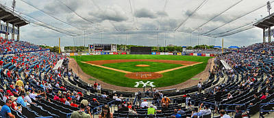 Photograph - Steinbrenner Field by C H Apperson