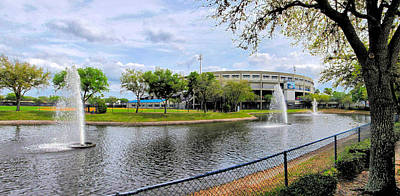 Photograph - Steinbrenner Field Lake 2 by C H Apperson