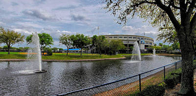 Photograph - Steinbrenner Field Lake by C H Apperson