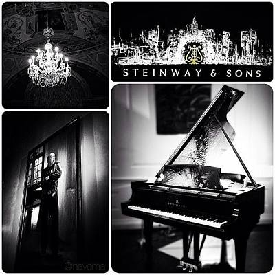 Piano Photograph - Steinway & Sons by Natasha Marco