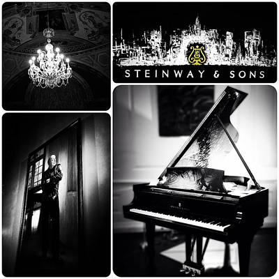 Steinway And Sons Art Print by Natasha Marco