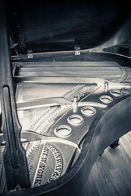Steinway Grand Piano Wall Art - Photograph - Steinway by Carrie Cole