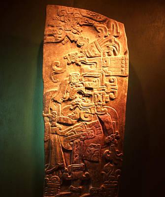 Photograph - Stela De Guatemala by Robert  Rodvik