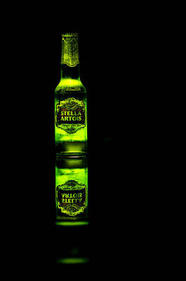 Photograph - Stella Artois by Alan Marlowe