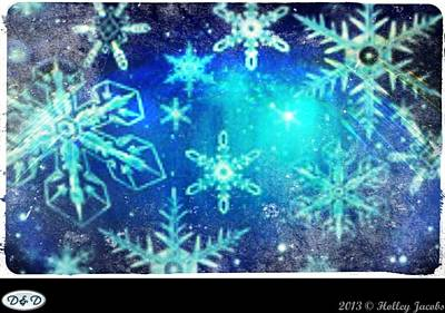 Digital Art - Step Into Christmas by Holley Jacobs