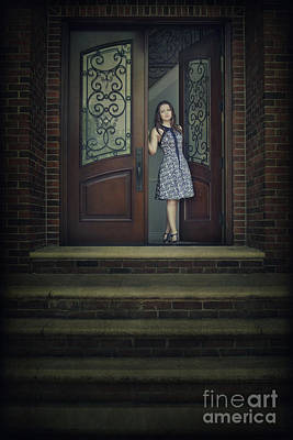 Step Into My Dream Art Print by Evelina Kremsdorf