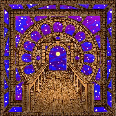 Harmony Digital Art - Step Into The Infinite by Peter Barreda