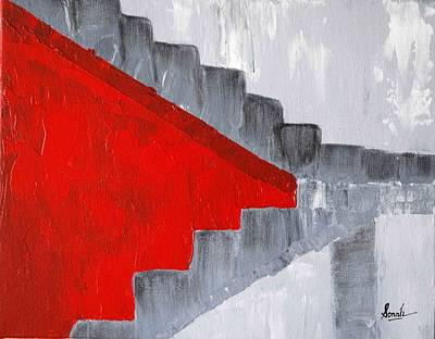 Painting - Step Up 2 by Sonali Kukreja
