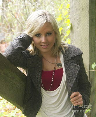 Wood Necklace Photograph - Stephanie 3 by Sean Griffin