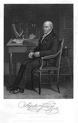 Stephen Girard  American Statesman Art Print by Mary Evans Picture Library