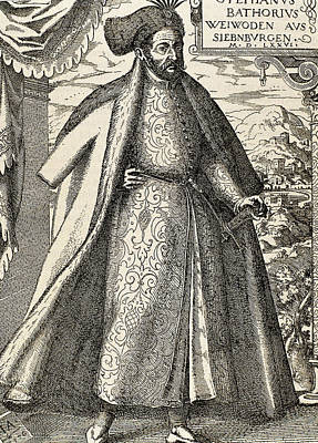 Stephen I Bathory (1533-1586 Art Print