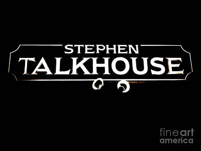 Stephen Talkhouse Art Print