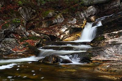 Photograph - Stepped Falls by Mike Farslow