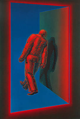 Wall Art - Painting - Stepping Out by De Es Schwertberger