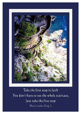 Photograph - Stepping Into Faith by Donna Proctor
